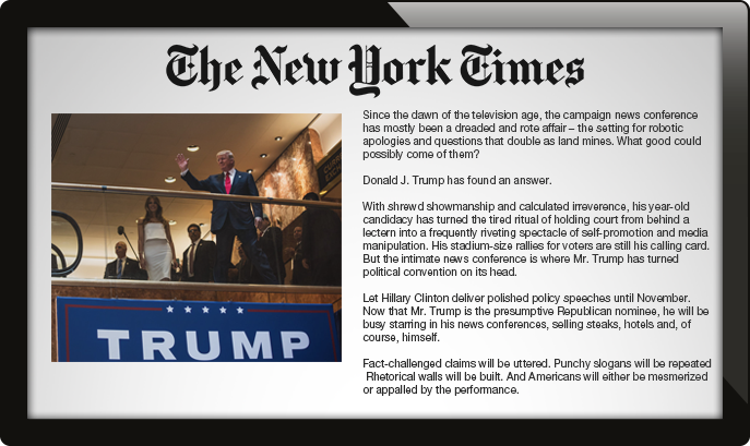 digital signage RSS feed, new york times