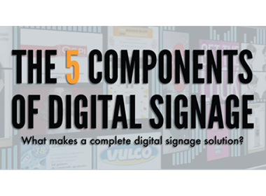 digital signage components
