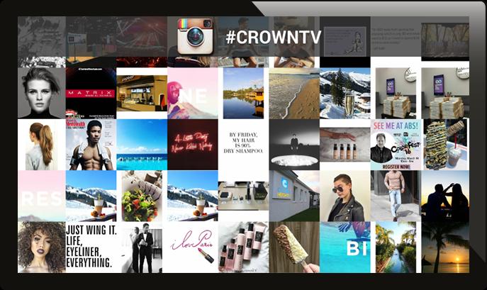 digital signage social media, digital signage instagram, instagram wall, hashtag wall