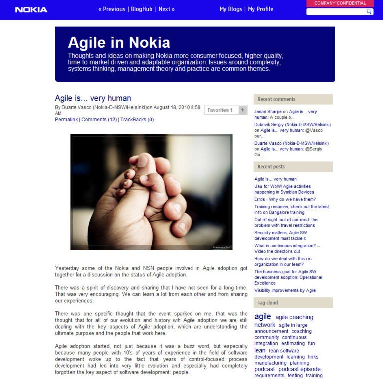 enterprise social network example