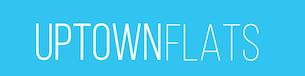 uptown flats logo, uptown flats