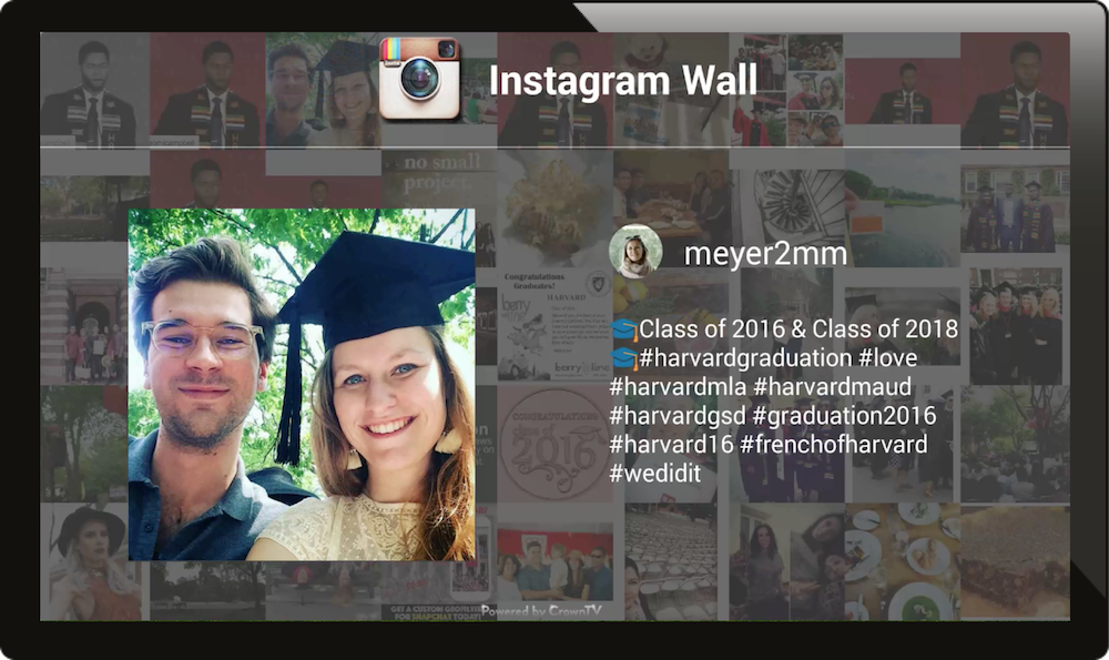 digital signage instagram, digital signage education, digital signage schools
