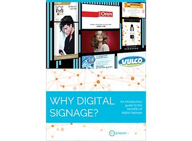 digital signage ebook, why digital signage
