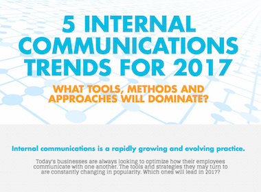 internal communications trends, infographic, internal communications