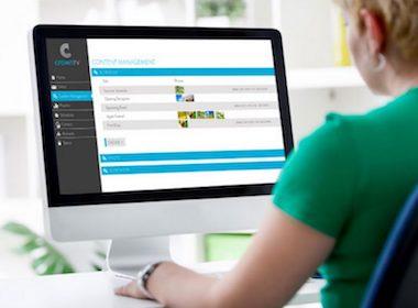digital signage content management system, digital signage dashboard