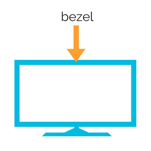 TV bezel