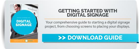 digital signage guide