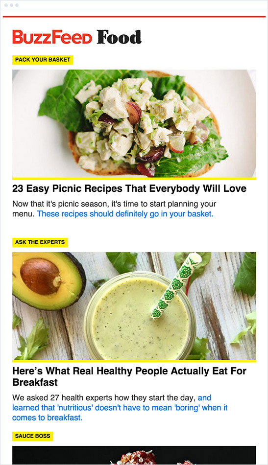 Buzzfeed food newsletter crowntv forumfinder Choice Image