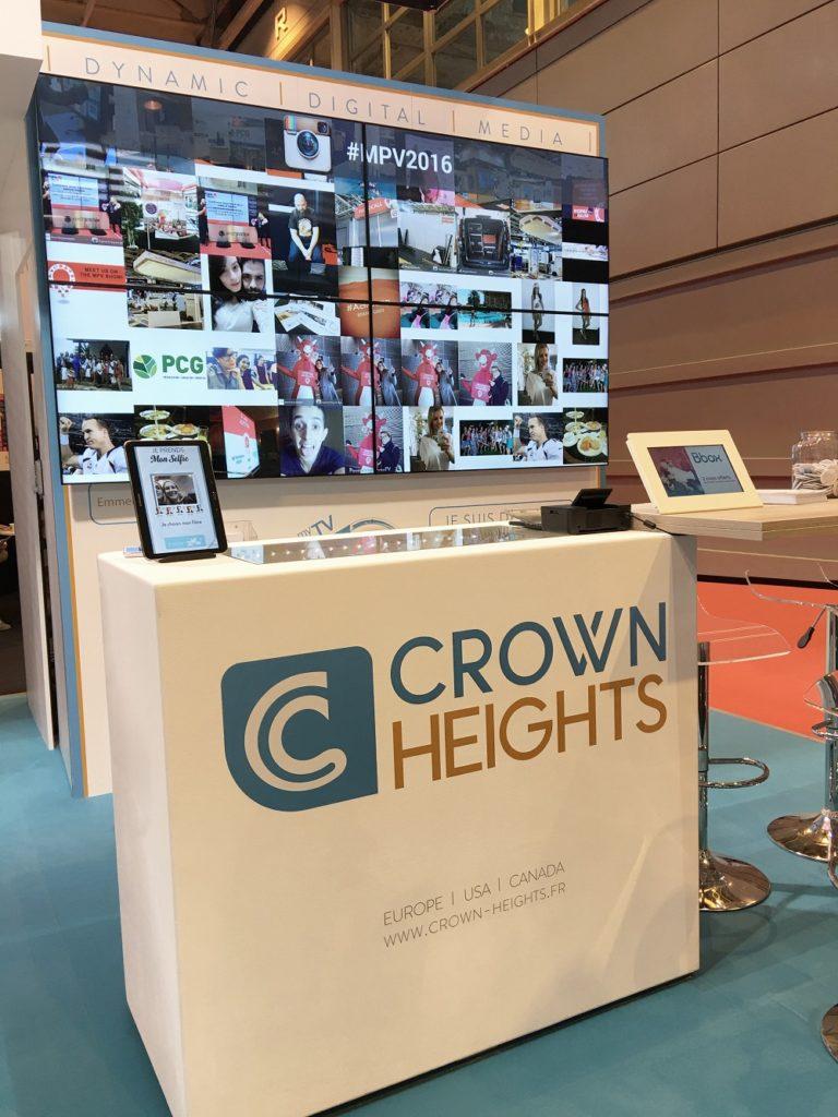 event marketing, digital signage for events