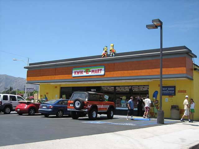 kwik e mart, experiential marketing