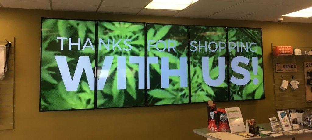 3 Benefits of Using Digital Signage in Marijuana Dispensaries | CrownTV