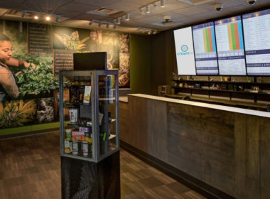 Digital Signage ft. CrownTV in a Marijuana Dispensary