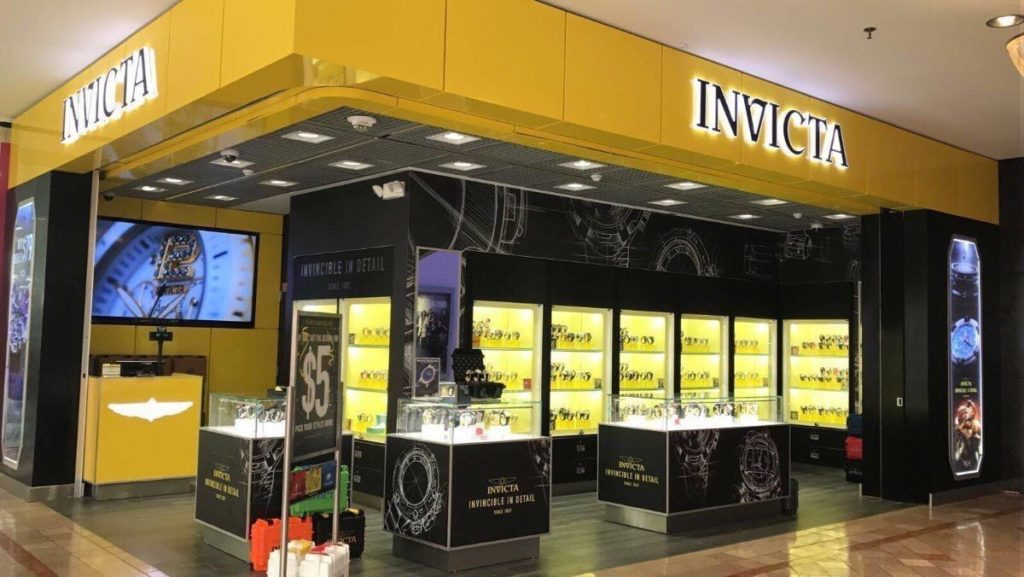 CrownTV x Invicta Digital Signage